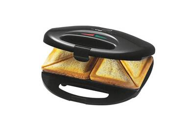gaufrier croque monsieur clatronic appareil sandwichs clatronic st 3477 noir inox darty. Black Bedroom Furniture Sets. Home Design Ideas
