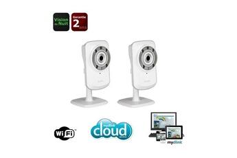 DCS-932L x 2 WiFi Vision Nuit Logiciel Mydlink Pack de 2DCS-932L DCS-932L