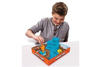 Pâte à modeler et bougie Spin Master Moulage Kinetic Sand : Coffret de chantier