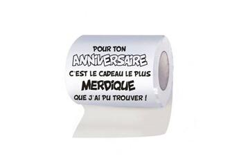 Tout pour la fête Anniversaire Papier WC : Joyeux anniversaire