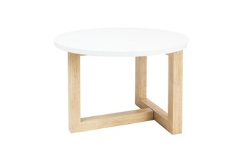 Tout le choix darty en table basse darty for Table basse scandinave ronde copenhague 80