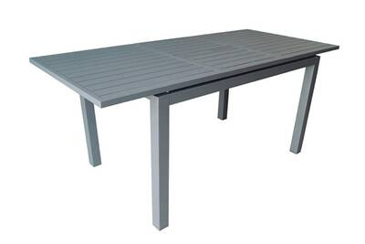 Table de jardin Proloisirs Trieste Table 180 Alu Allonge Papillon ...