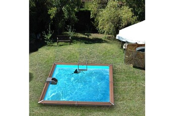 Tout le choix darty en piscine et baln o darty for Piscine carree semi enterree