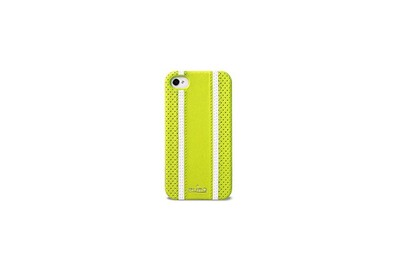 Puro IPC4GOLFFLUO1 Coque arrière pour iPhone 4/4S Vert