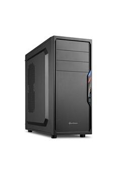 Sedatech PC de Bureau (Intel Pentium G4400 2x3.30Ghz, Intel HD Graphics 510, 4Go RAM, 1000Go HDD, USB 3.0, Full HD 1080p, Alim 80+, sans OS)