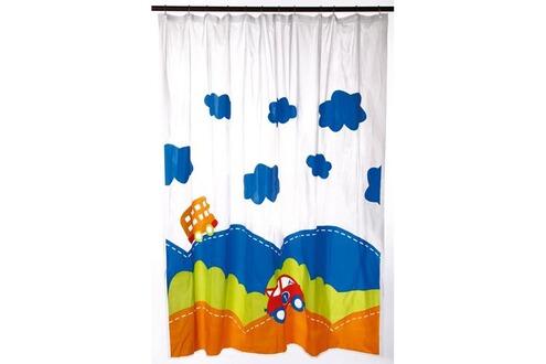 Rideau de douche - PEVA - 180x200 cm - Voiture