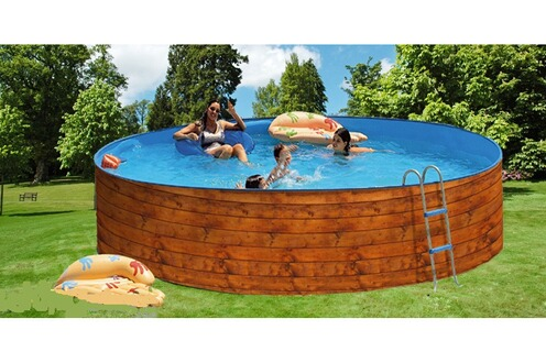 Tout le choix darty en piscine hors sol darty for Piscine bois ronde