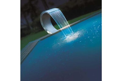 Fontaine et cascade de piscine NORTLAND-UBBINK Cascade Piscine Mamba LED