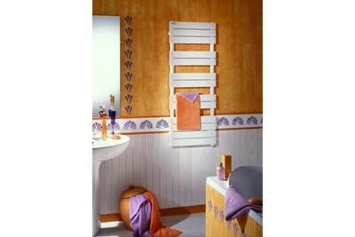 Sèche serviette Acova Sèche-serviettes acova fassane spa symétrique chauffage central 411 - Blanc