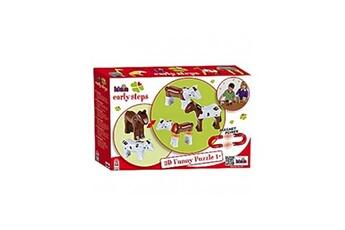 Autres jeux de construction KLEIN Funny Puzzle Magnetique - Cheval et Vache
