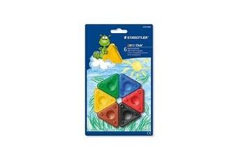 Peinture et dessin STAEDTLER 6 craies cire triangle