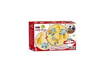 Autres jeux de construction KLEIN Funny Puzzle Magnetique - Girafe et Elephant