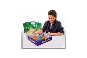Pâte à modeler et bougie Spin Master Sable à modeler Kinetic Sand Coffret Dinosaures