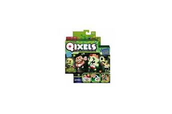 Jeux ludo éducatifs Kanai Kids Qixels Mini kit 4 creations Glow