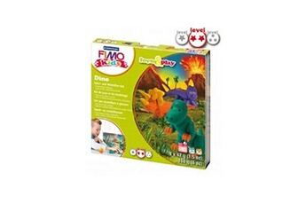 Pâte à modeler et bougie Fimo Fimo KIDS Form and Play Dinosaures