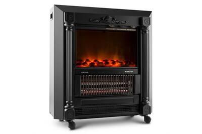 chemin e lectrique klarstein grenoble chemin e lectrique ventilateur chaud noir darty. Black Bedroom Furniture Sets. Home Design Ideas