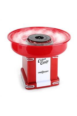 Barbe papa oneconcept candyland 2 machine barbe papa r tro 500w rouge darty - Machine barbe a papa darty ...