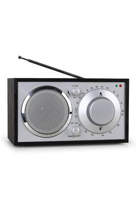 radio oneconcept lausanne radio vintage fm aux noire darty. Black Bedroom Furniture Sets. Home Design Ideas