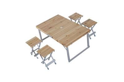 Chaise et fauteuil de jardin Outsunny Table de camping pliante ...