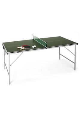 table de ping pong klarfit mini table de ping pong pliable verte darty. Black Bedroom Furniture Sets. Home Design Ideas