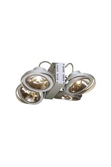 SLV - Quatre spots orientables Tec Karda 4 L.32cm argent - 149144