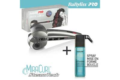 Fers à boucler Babyliss Babyliss Pro - Miracurl (BAB2665E) - Perfect  Curling Machine + 9c657fc23b8