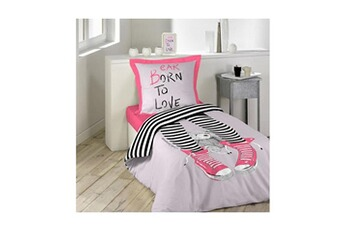 tout le choix darty en linge de lit de marque lulu castagnette darty. Black Bedroom Furniture Sets. Home Design Ideas