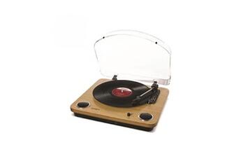 ION Max LP   Platine vinyle 33T / 45T / 78T   Conversion vinyle en fichiers numériques   Bois - MAXL