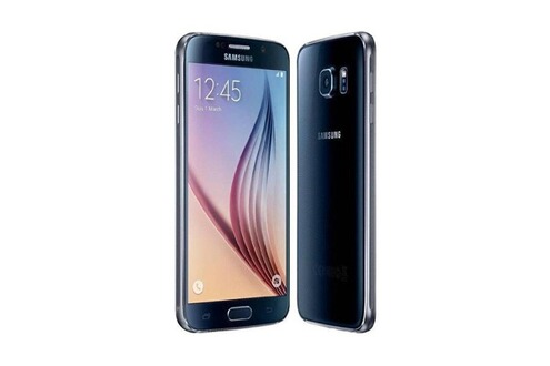 smartphone samsung samsung g920f galaxy s6 32go noir mk483347243 darty. Black Bedroom Furniture Sets. Home Design Ideas