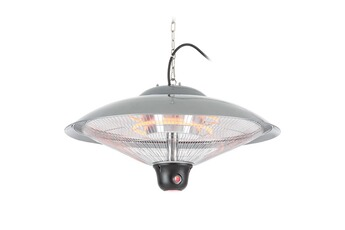 Lampe chauffante pro Réglette chauffante plafonnier radiant 60,5 cm