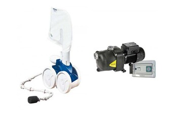 Tout le choix darty en aspirateur de piscine darty for Aspirateur piscine polaris 65