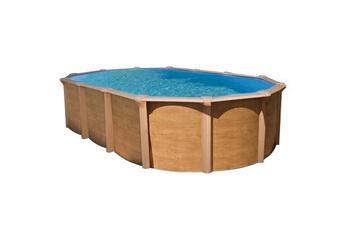 piscine hors sol abak piscine mtal hors sol aspect bois - Piscine Hors Sol Metal Aspect Bois