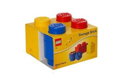 Los Angeles 92bbb dbc8d Brique de rangement lego multipack 3 pièces