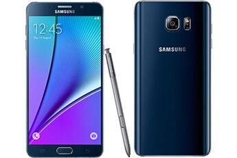 Samsung Smartphone Galaxy NOTE 5 noir Import
