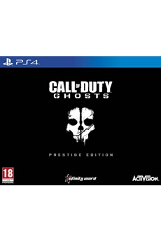 Jeux PS4 Call Od Duty Ghosts Prestige Dition Pour Activision