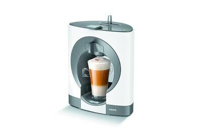cafeti re filtre krups kp1101 dolce gusto oblo blanche darty. Black Bedroom Furniture Sets. Home Design Ideas
