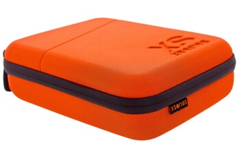 Mallette Small CAPXULE Orange Housse de Rangement pour caméras GoPro et Accessoires CAPX1.1