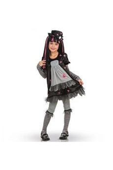 Déguisements filles RUBIES D?guisement enfant - Costume Black Dolly Taille 8-10 ans
