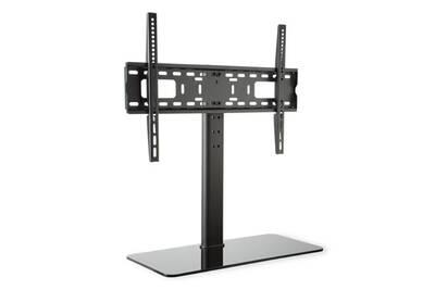 meuble tv auna support tv taille l hauteur 76 cm r glable. Black Bedroom Furniture Sets. Home Design Ideas