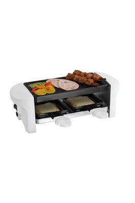 raclette domoclip appareil raclette blanc 2 personnes. Black Bedroom Furniture Sets. Home Design Ideas