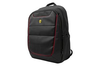 86ae1a3e36 Coque smartphone Housse sac à dos noir pour ordinateur 15 pouces logo  ferrari Ferrari