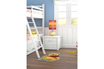 Tapis enfant Winnie Tapis chambre shaped winnie ourson jaune 50 x 80 cm tapis enfant et disney par winnie