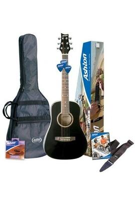 Ashton Ashton - Spjoeycoustic - Set de guitare acoustique pour débutant - Version en anglais (Import Royaume Uni)