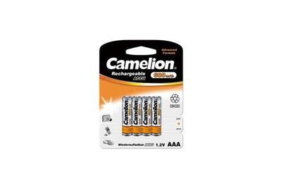 Pile rechargeable Camelion Piles NiMH Accus Rechargeable R03 / AAA / 600mAh / Blister 4 accus CAMELION