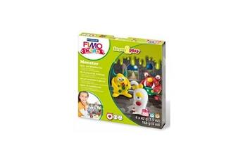 Pâte à modeler et bougie STAEDTLER Fimo KIDS Form and Play Monster