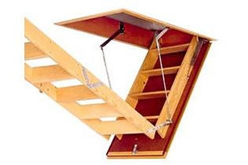 HABITAT ET JARDIN Escalier escamotable