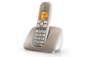 Téléphone fixe PHILIPS XL3901S GRIS SOLO SANS  REPONDEUR