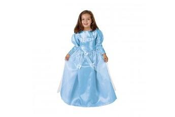 Déguisements Princess Déguisement de Princesse - Robe Bleue Taille 3-4 ans