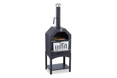 barbecue klarstein pizzaiolo four bois charbon fumoir. Black Bedroom Furniture Sets. Home Design Ideas
