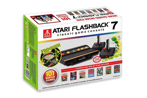 Atari Console Atari Retro Flashback 7 + 101 Jeux